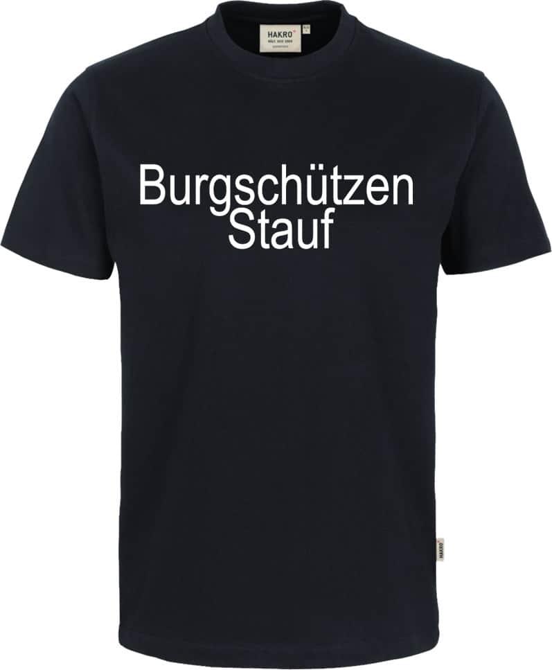 Burgsch-tzen-Stauf-T-Shirt-292-005-Vereinsnamee7Sxx1fy3BcSz