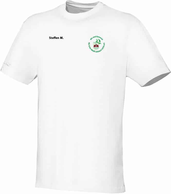 KG-Gruen-Weiss-Luelsdorf-T-Shirt-6133-00-Logo-Name