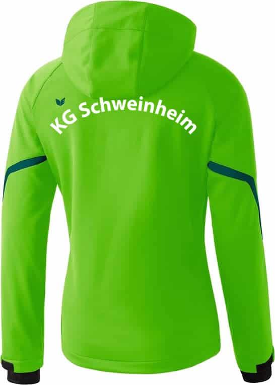 KGS-Schweinheim-Softshelljacke-906403-gruen-Ruecken