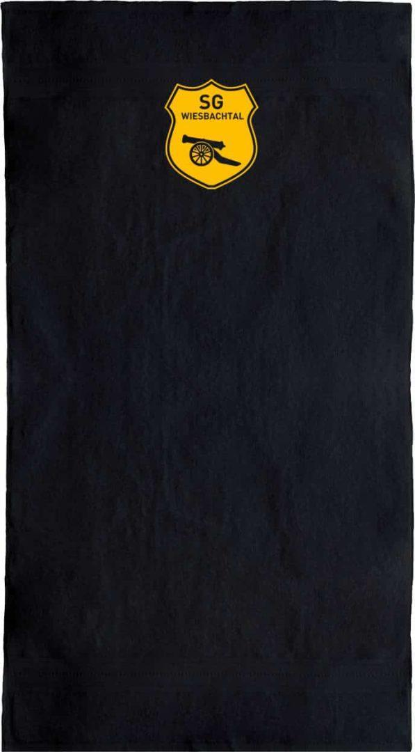 SG-Wiesbachtal-Handtuch-schwarz-Vereinswappen