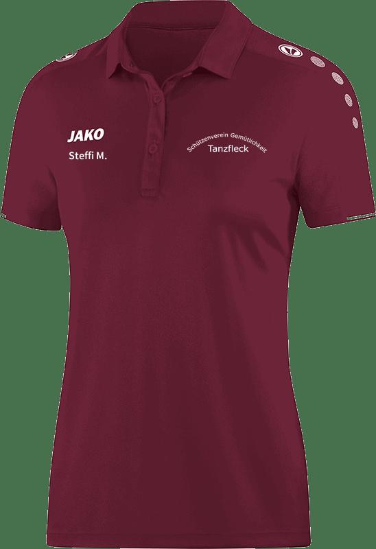 Schuetzenverein-Gemuetlichkeit-Tanzfleck-Polo-6350-14-Damen-Name