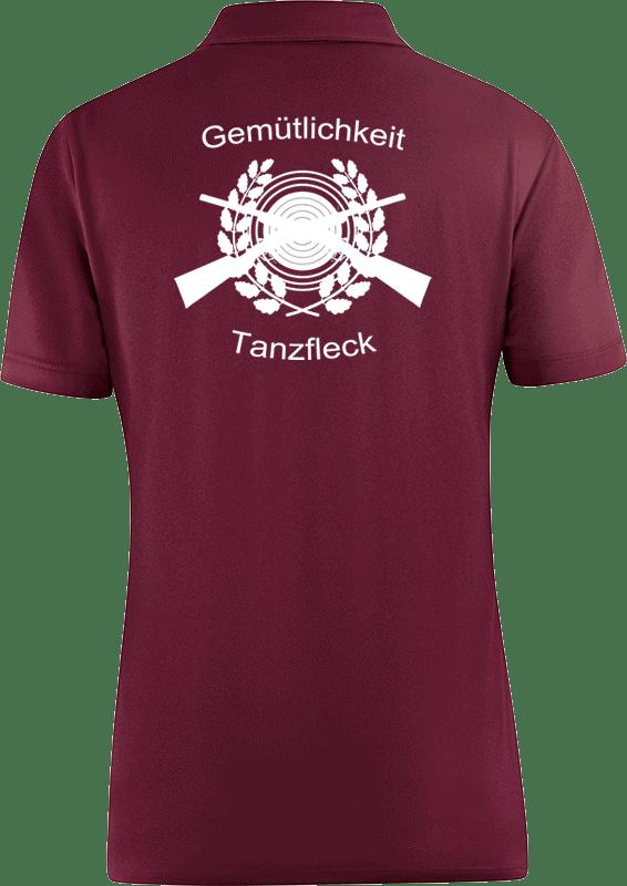 Schuetzenverein-Gemuetlichkeit-Tanzfleck-Polo-6350-14-Damen-Ruecken